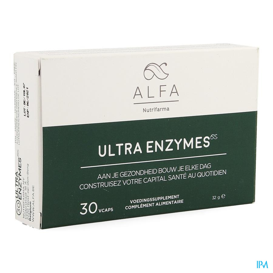 Alfa Ultra Enzymes 30 capsules