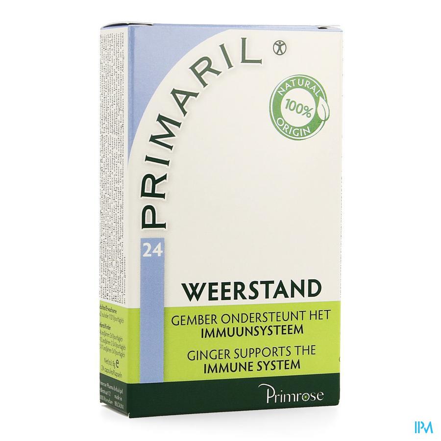 Primaril weerstandscapsules  (24 stuks)