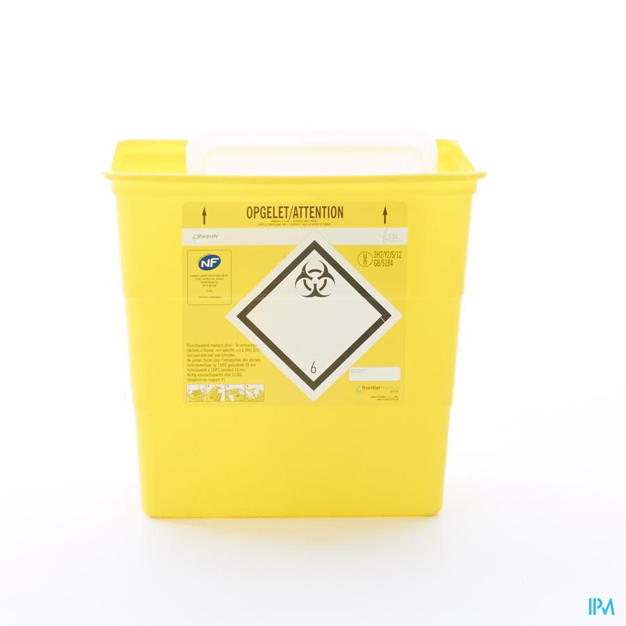 Naaldcontainer Sharpsafe / 13L