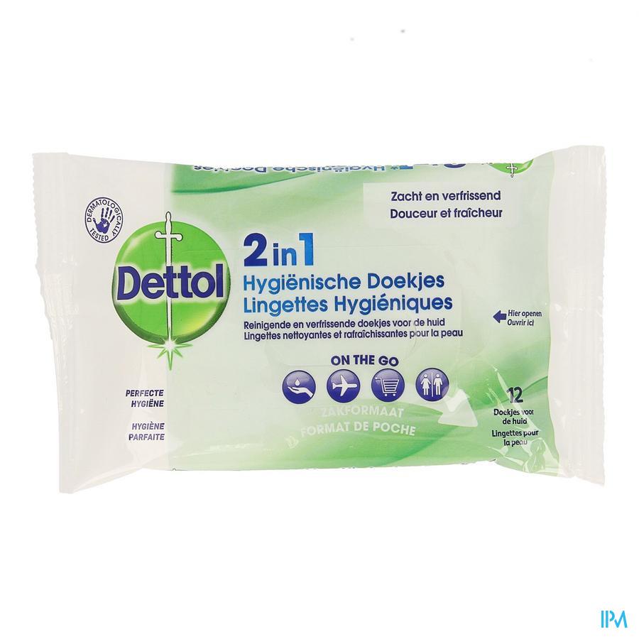 Dettol 2 in1 Hygienische doekjes