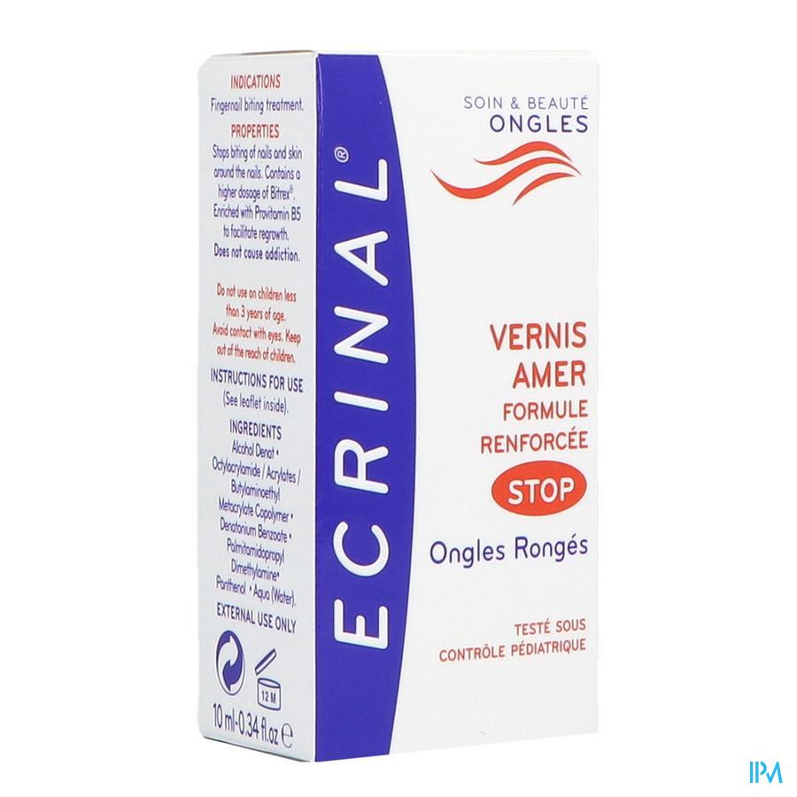 Ecrinal bittere nagellak 10 ml