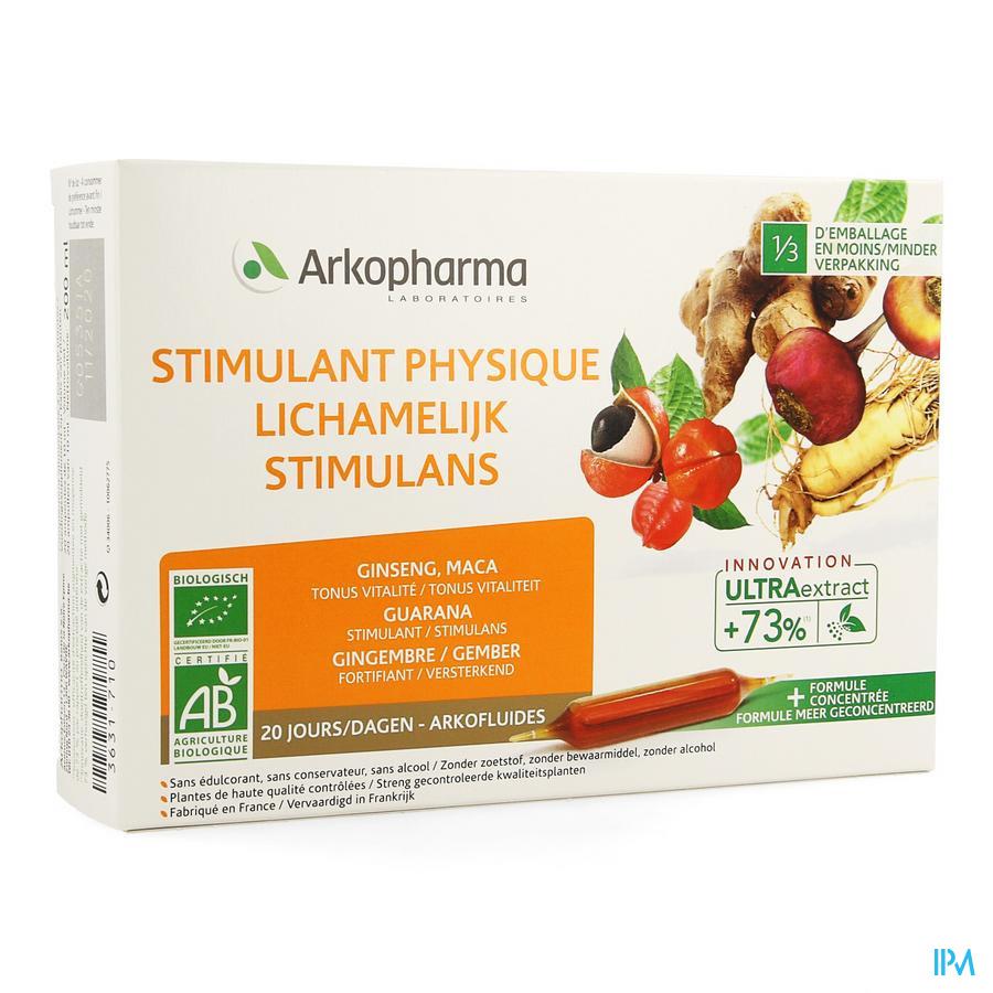 Arkofluide Stimulans 20 ampules