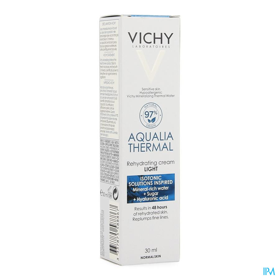 Vichy Aqualia dagrème light (30ml)