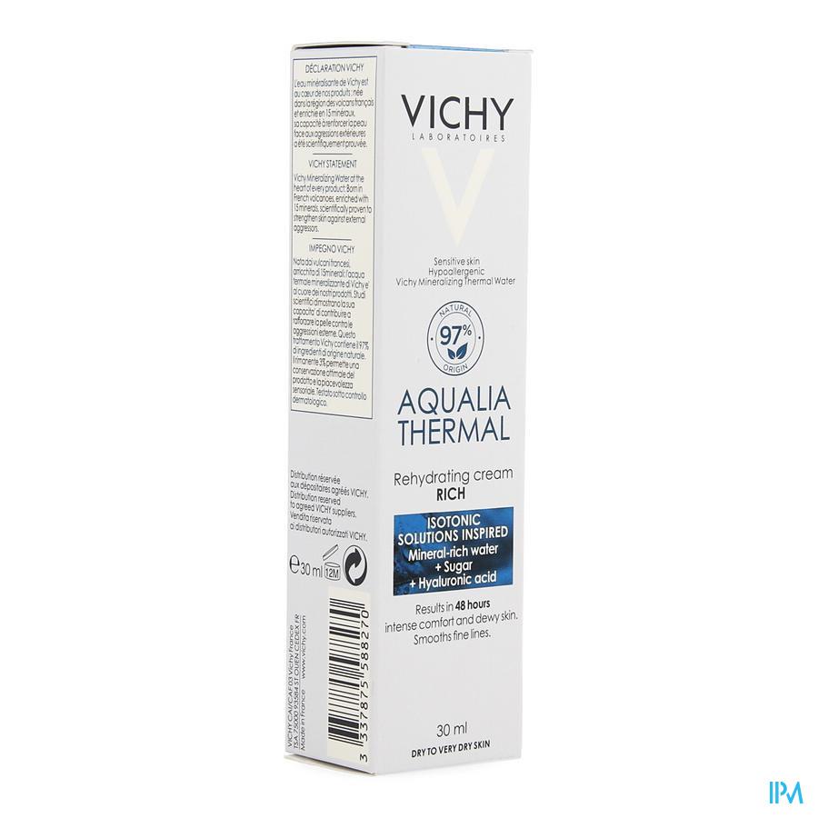 Vichy Aqualia dagcrème rijk (30ml)