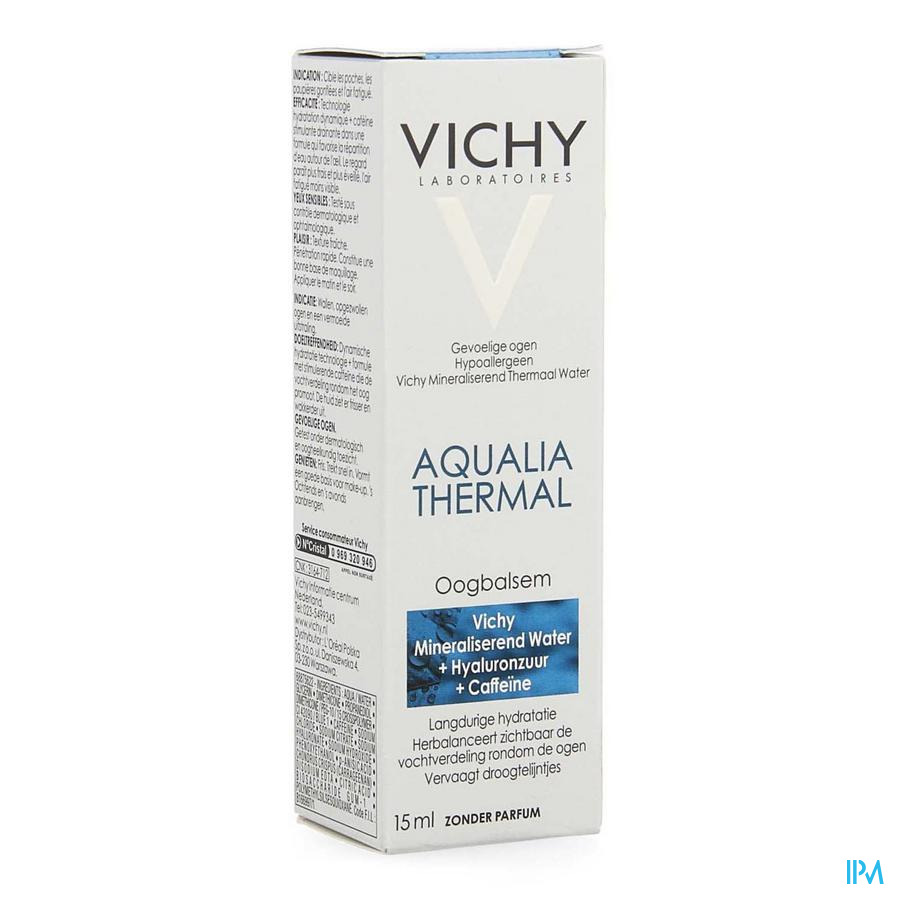 Vichy Aqualia Oogbalsem 15ml
