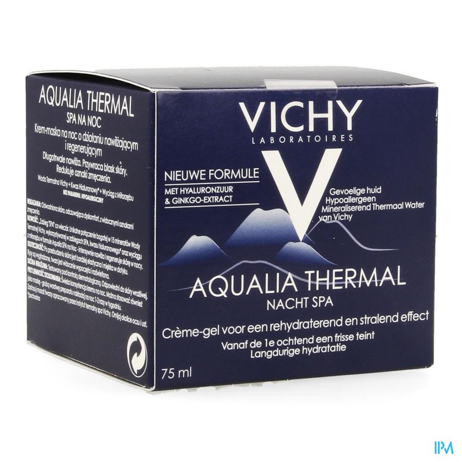 Vichy Aqualia Nachtcreme Spa