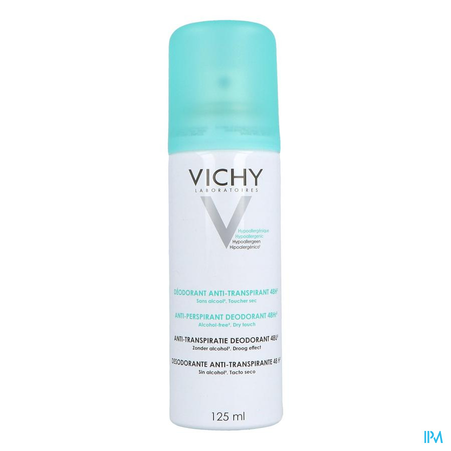 Vichy Deo Spray 48u intense transpiratie 125ml