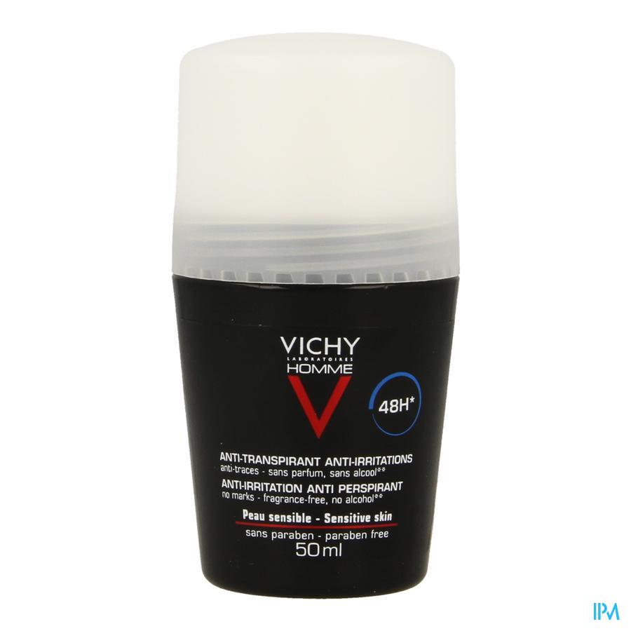 Vichy Homme Deodorant Roller Gevoelige huid 48u