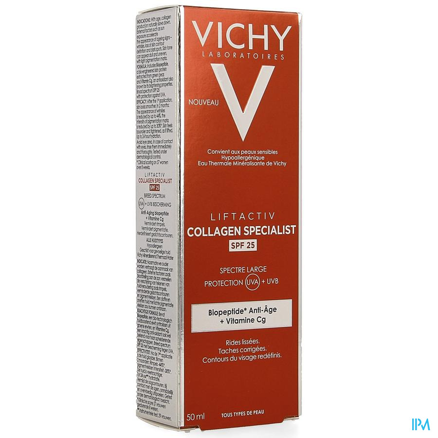 Vichy Collagen Specialist dagcreme IP25 (50ml)