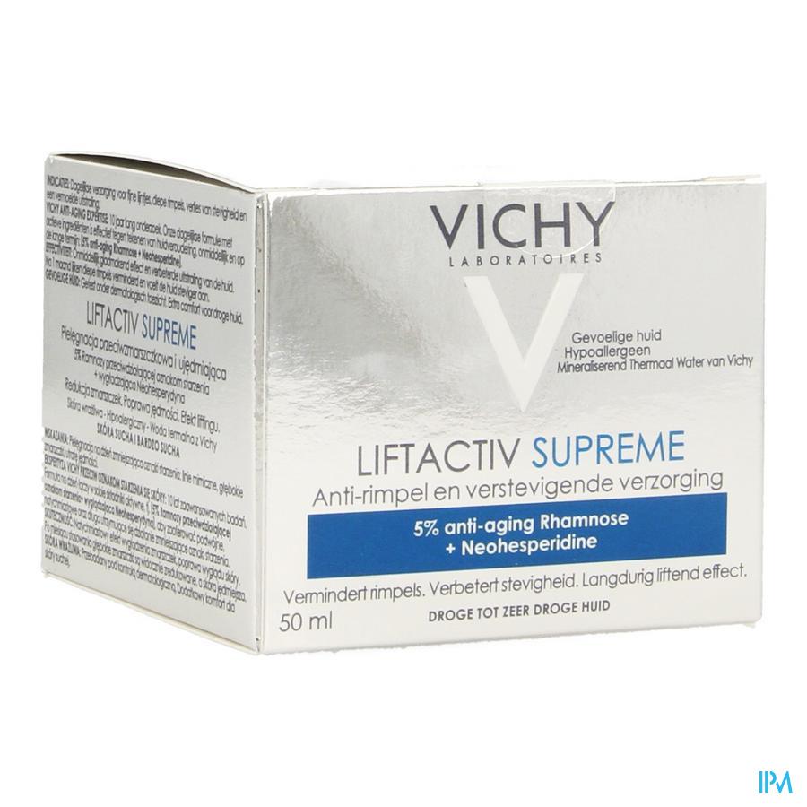 Vichy Liftactiv Supreme Dagcrème droge huid
