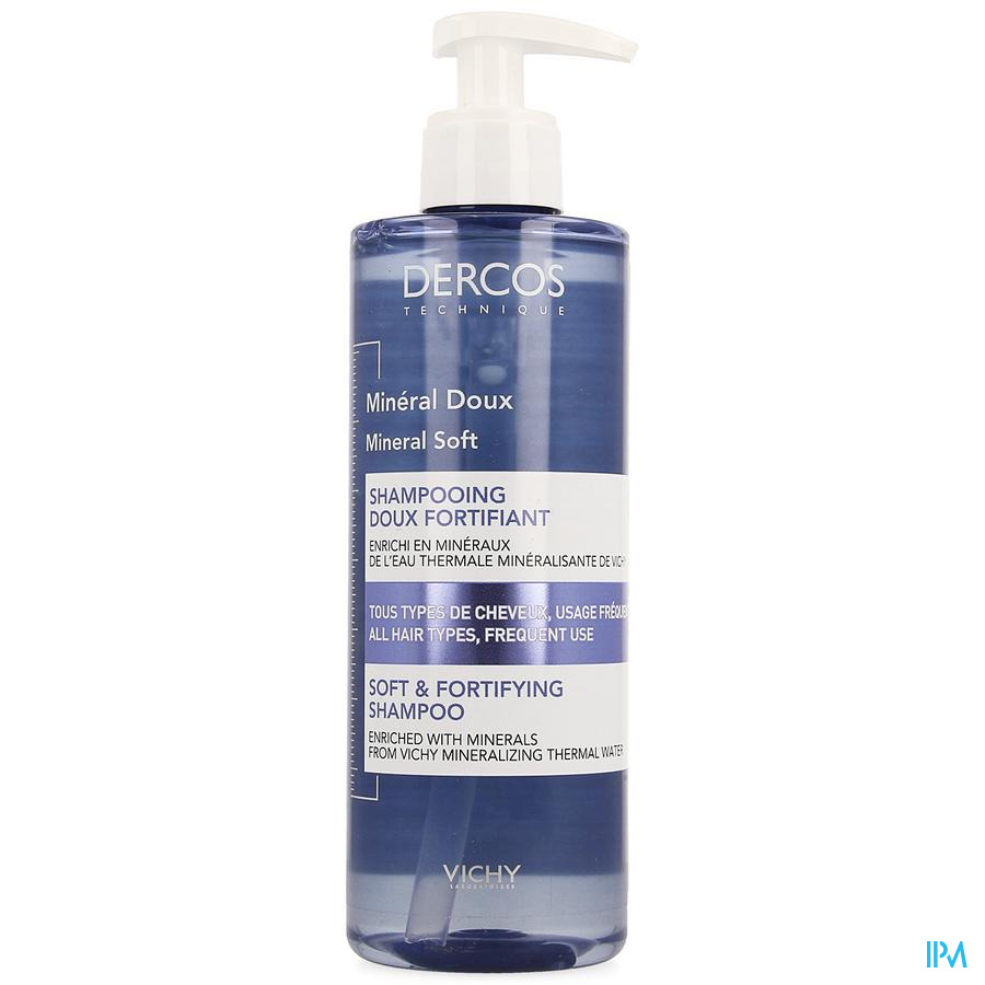Dercos Shampoo  dagelijks wassen (400ml)