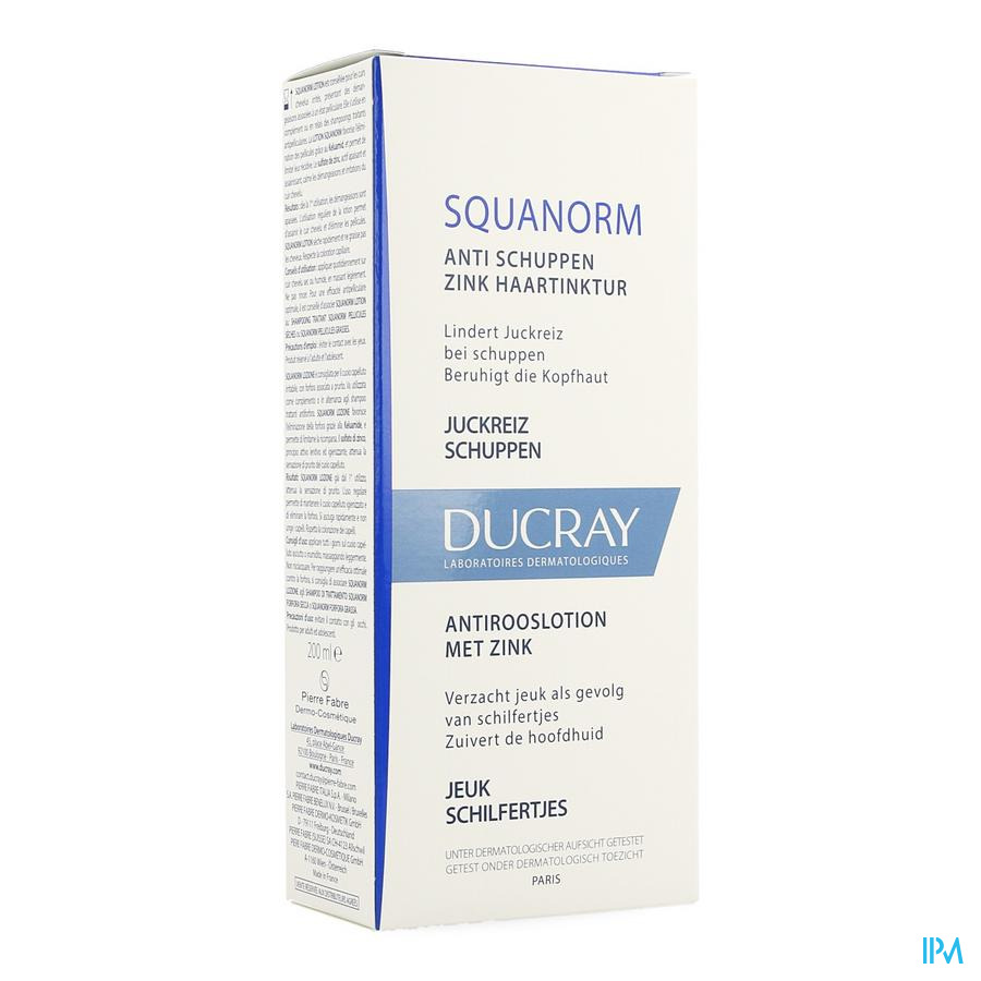Ducray Squanorm Lotion Antiroos  200ml