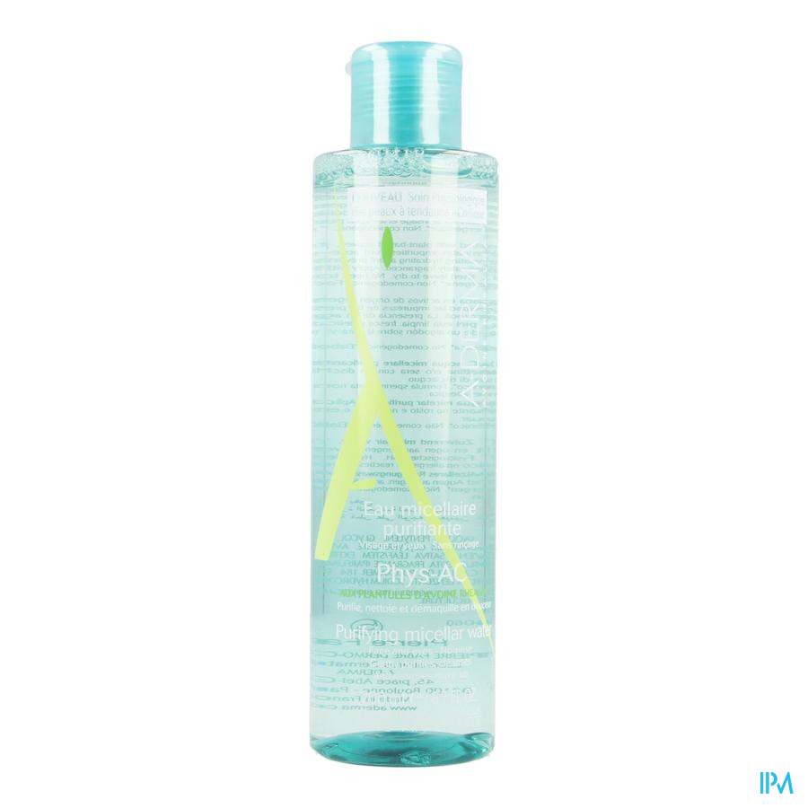 Phys-AC zuiverend micellair water (200ml)