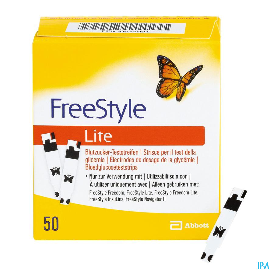 Freestyle Lite strips (50)