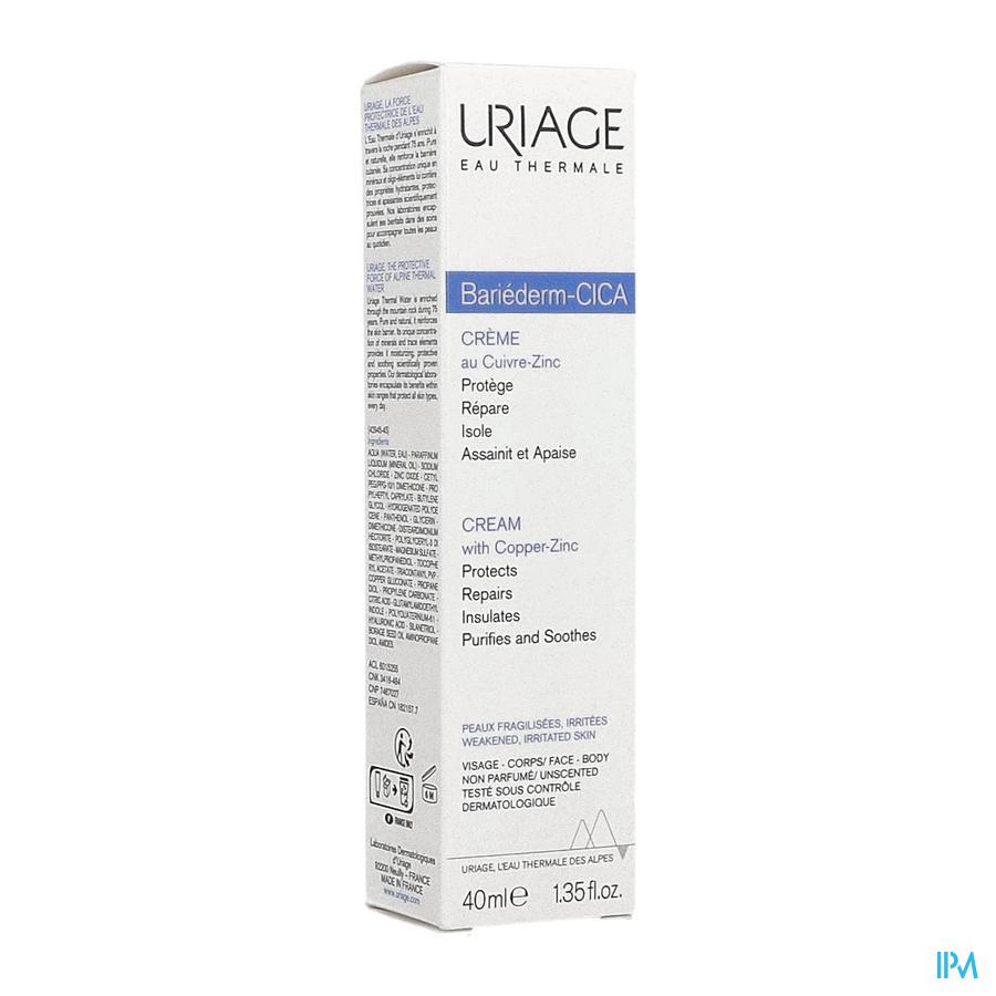Uriage Bariederm Cica Creme Herstellend (40ml)