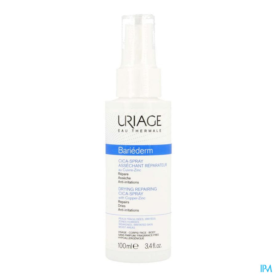 Uriage Bariederm Cica Spray herstellend (100ml)