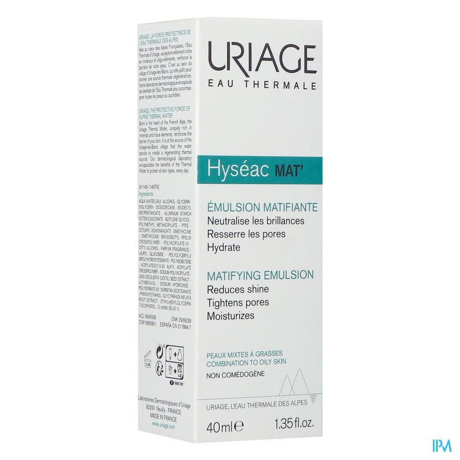 Uriage Hyseac Matterende creme  (40ml)