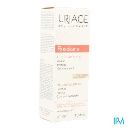 Uriage Roseliane CC Cream Ip30 Tube 40ml