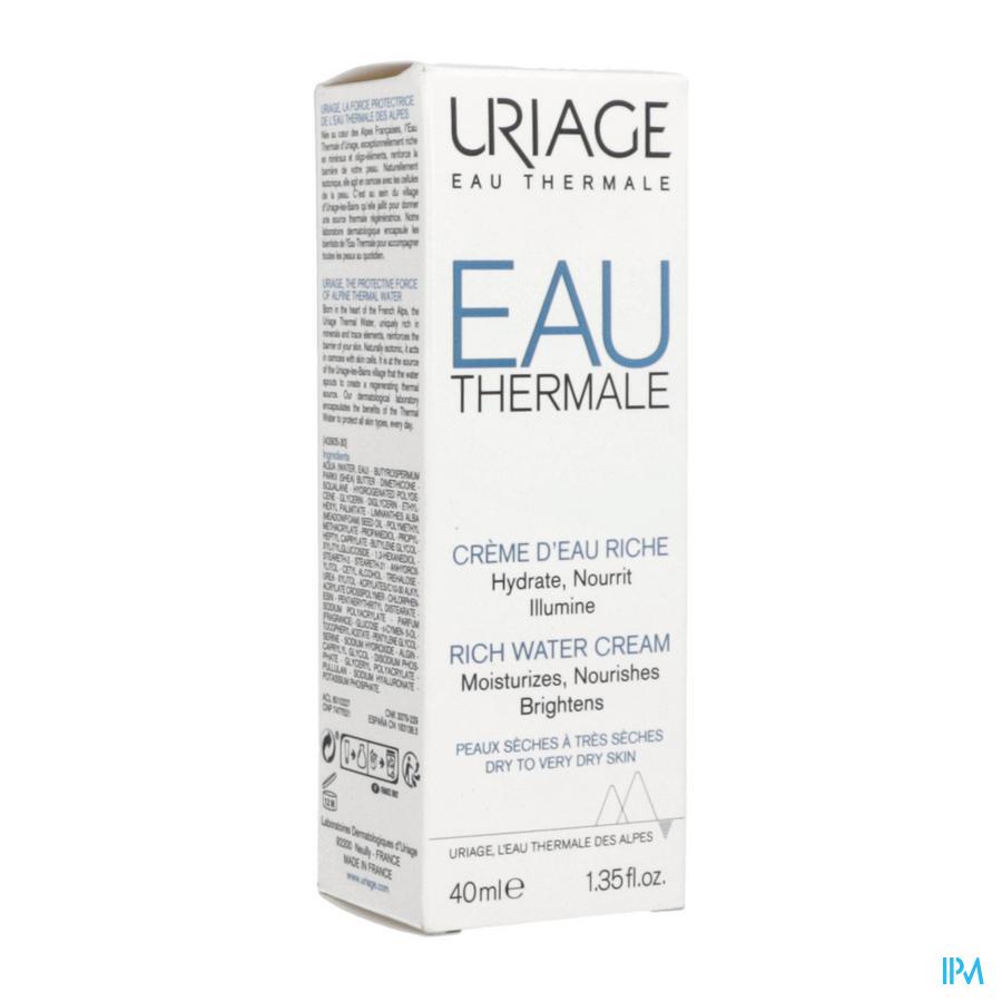 Uriage Eau Thermale Creme Rijk (40ml)