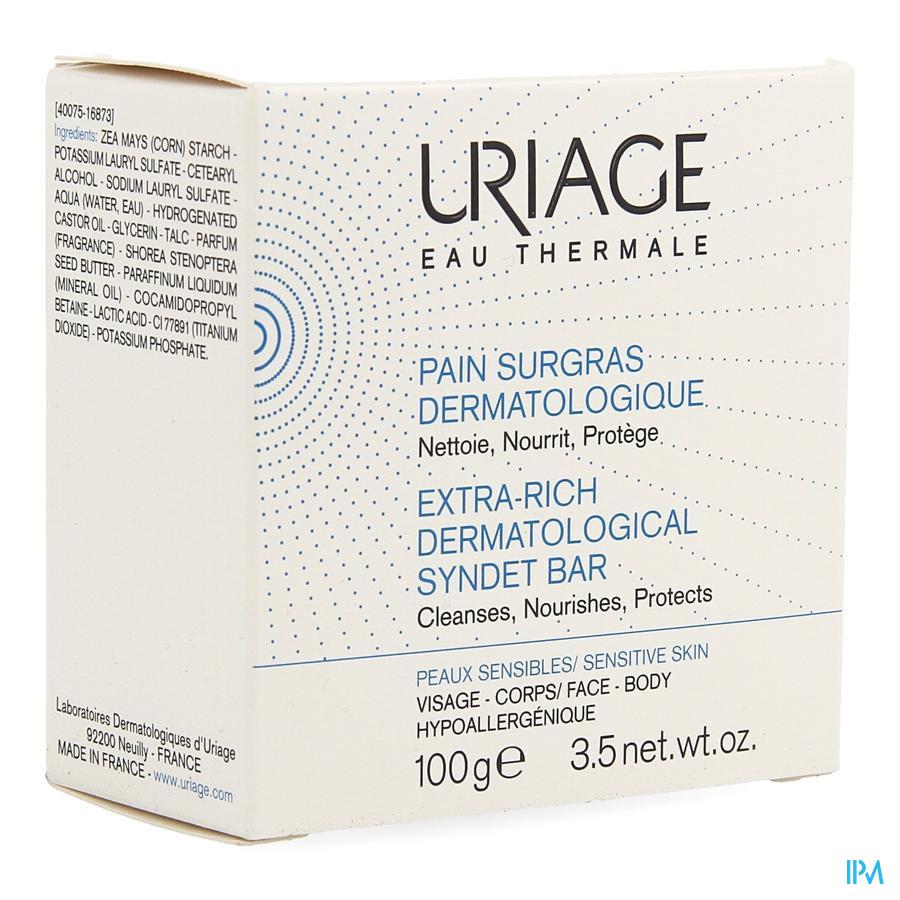 Uriage Eau Thermale Wasstuk Overvet (100g)