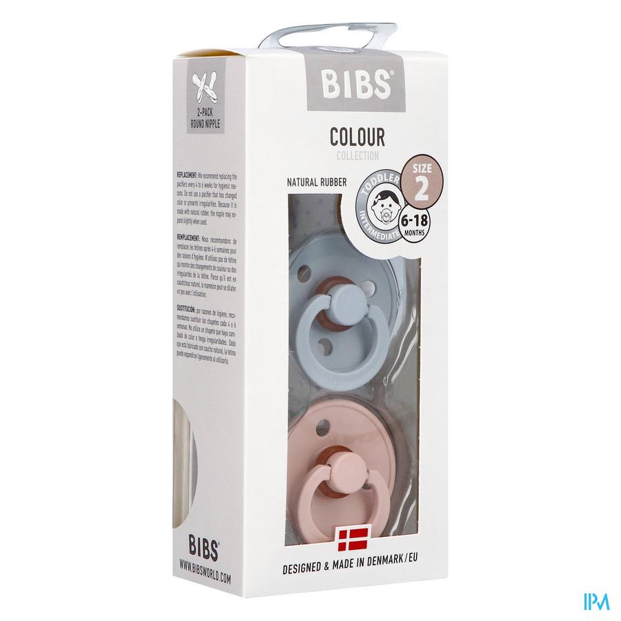 BIBS (6-18 maanden) CLOUD / BLUSH