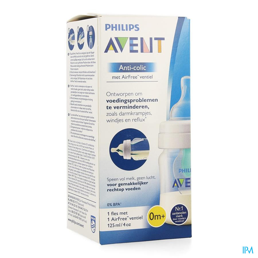 Avent Zuigfles Anti-kolieken 125ml