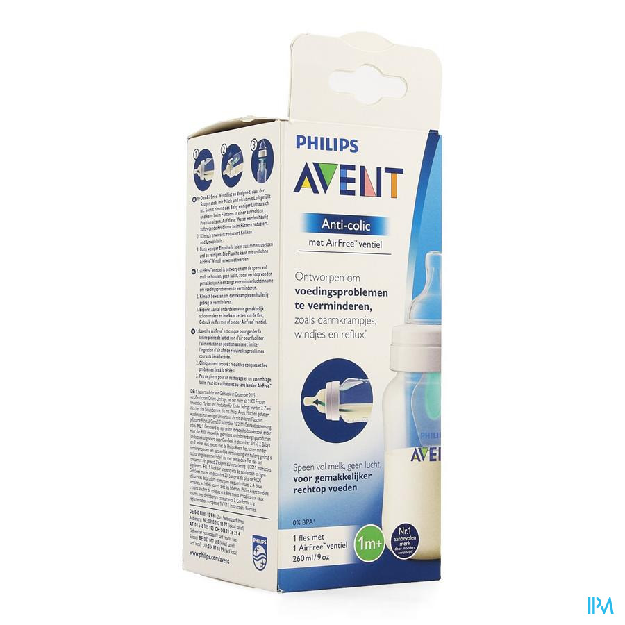Avent Zuigfles Anti-kolieken (260ml)