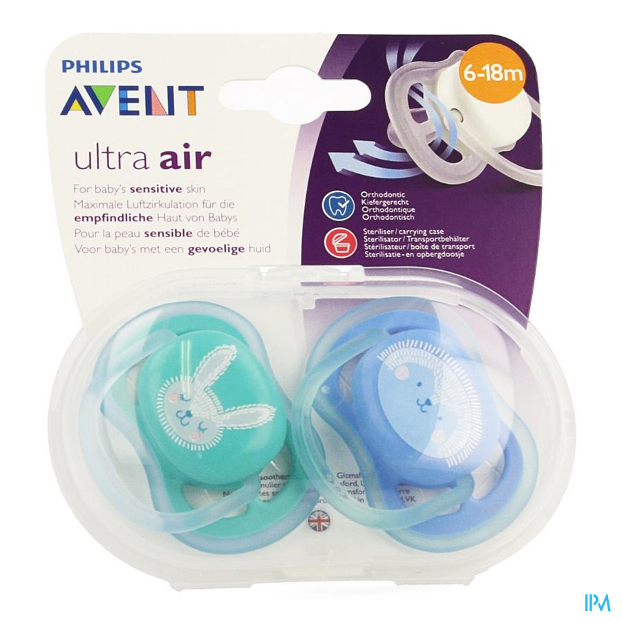 Avent Fopspeen +6m Air mix