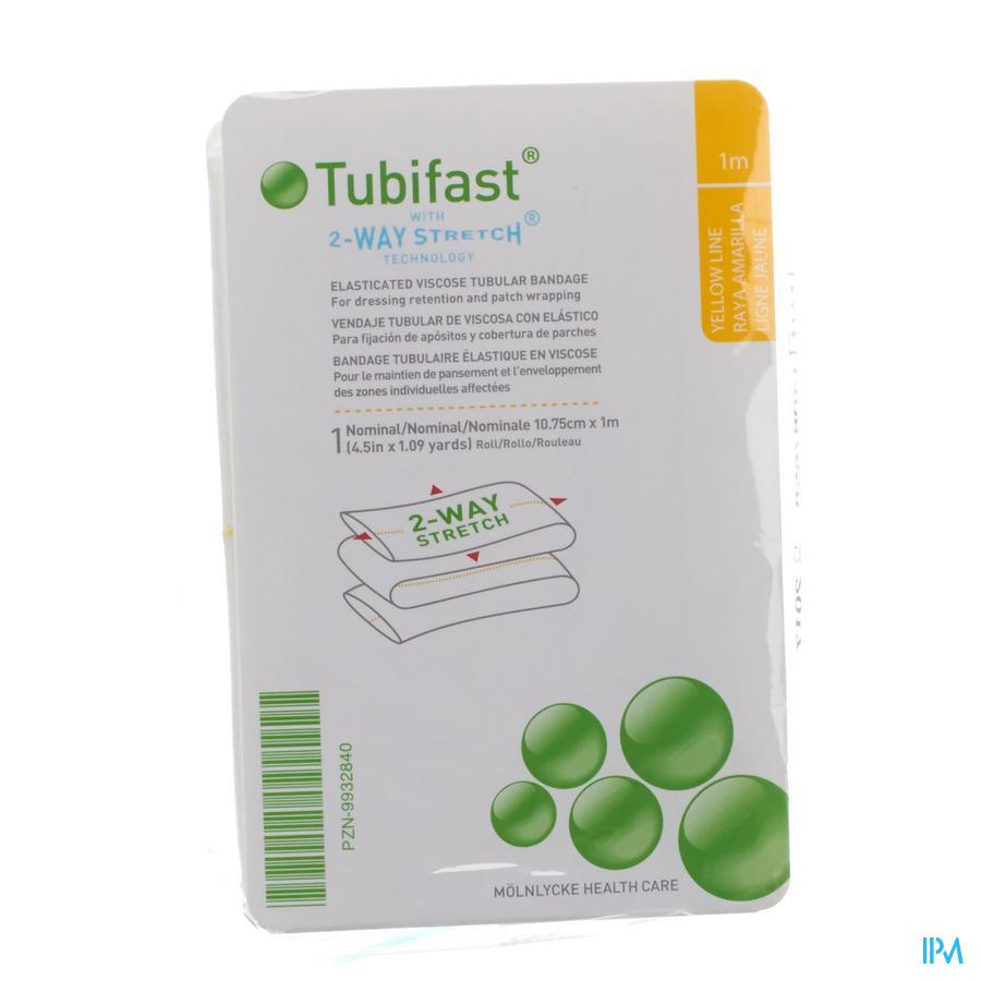 Tubifast Geel 10,75 cm x 1m