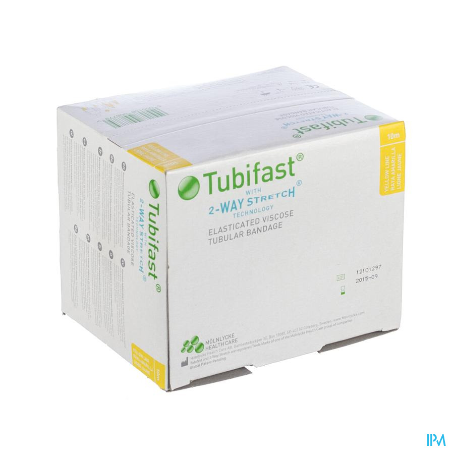 Tubifast Geel 10,75 cmx10m