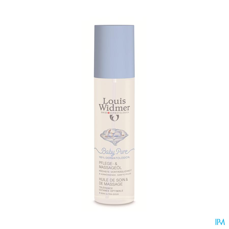 Louis Widmer Baby Pure Verzorgings- en Massageolie (150ml)