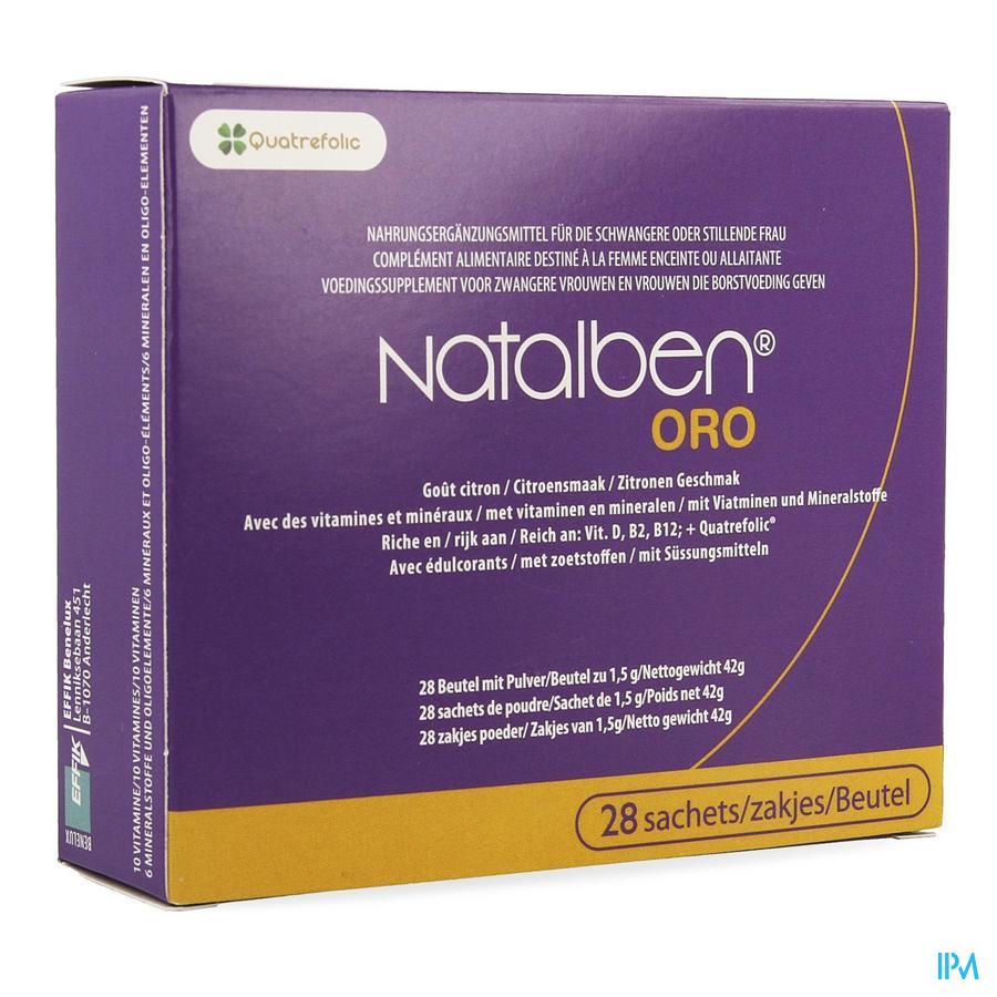 Natalben Oro (28 zakjes)