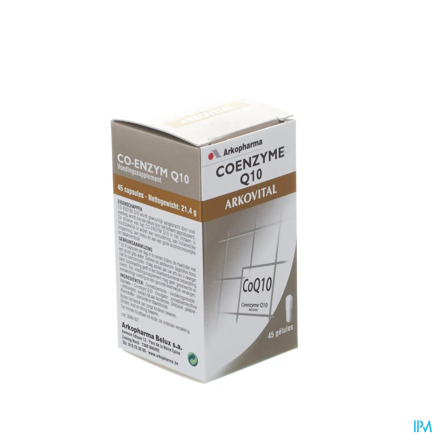 Arkovital Co-Enzym Q10 (45 capsulen)