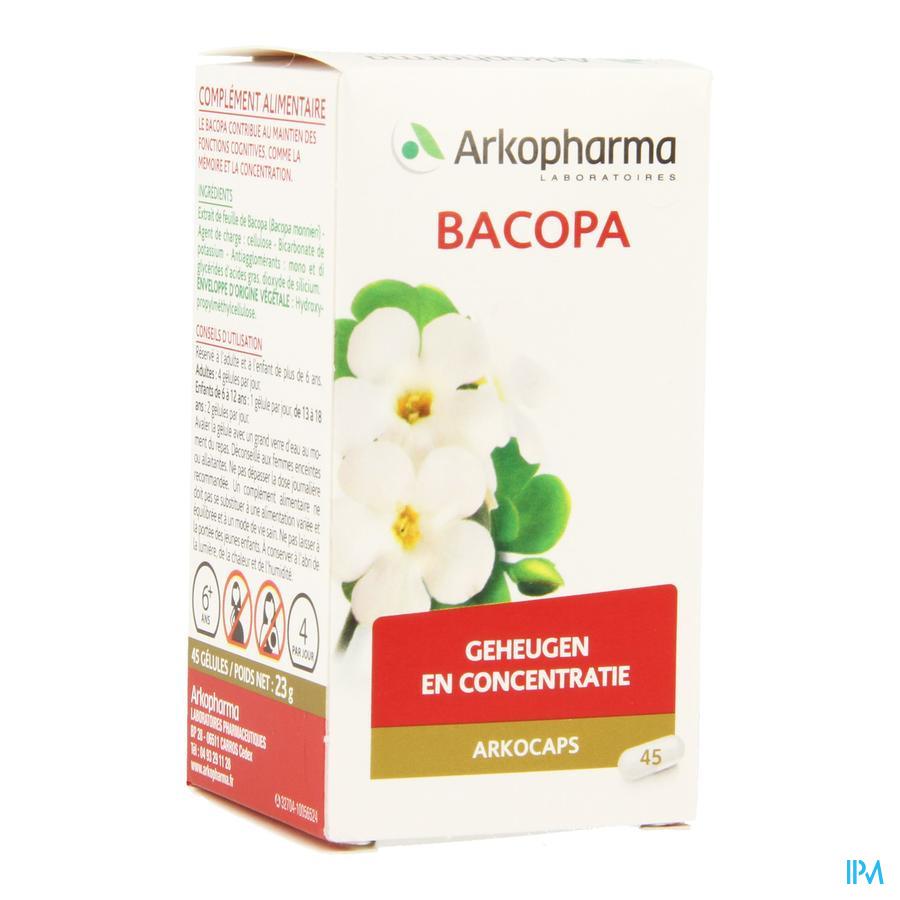 Bacopa (45 capsulen)