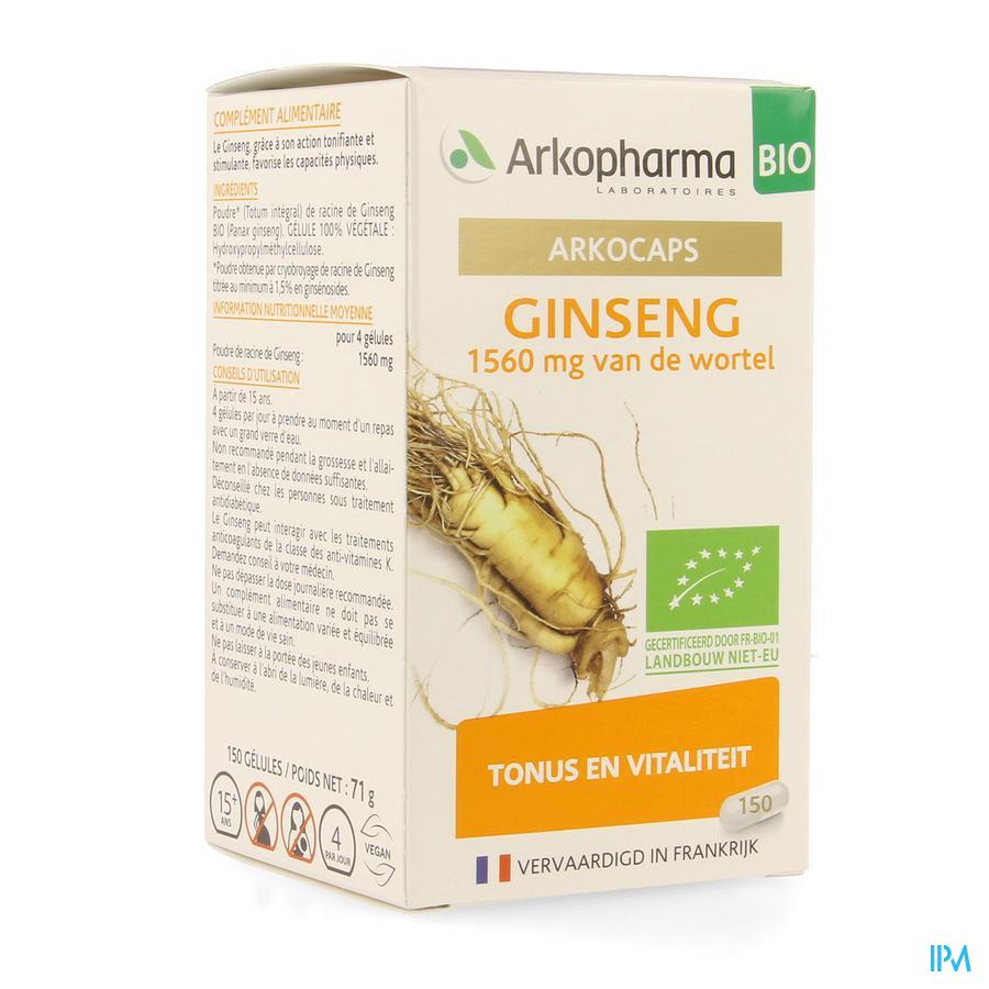 Ginseng (150 capsulen)