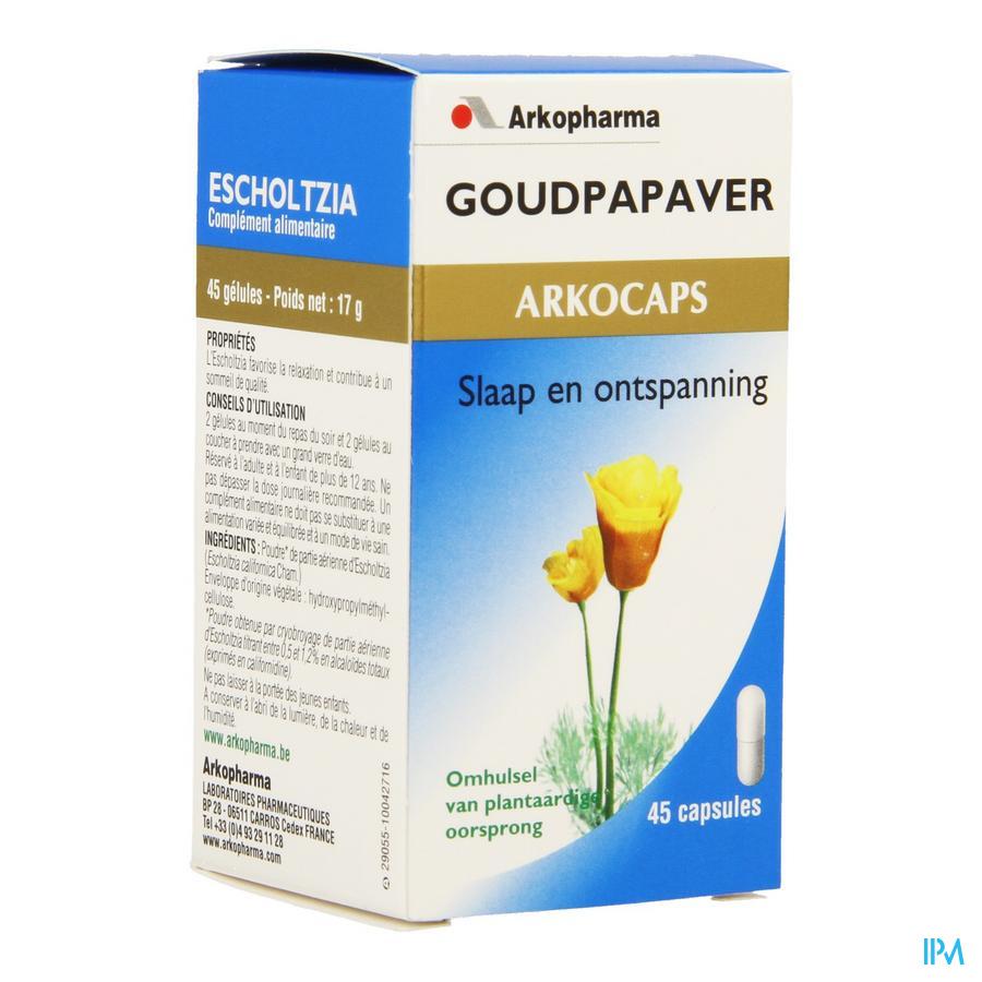 Goudpapaver (45 capsulen)