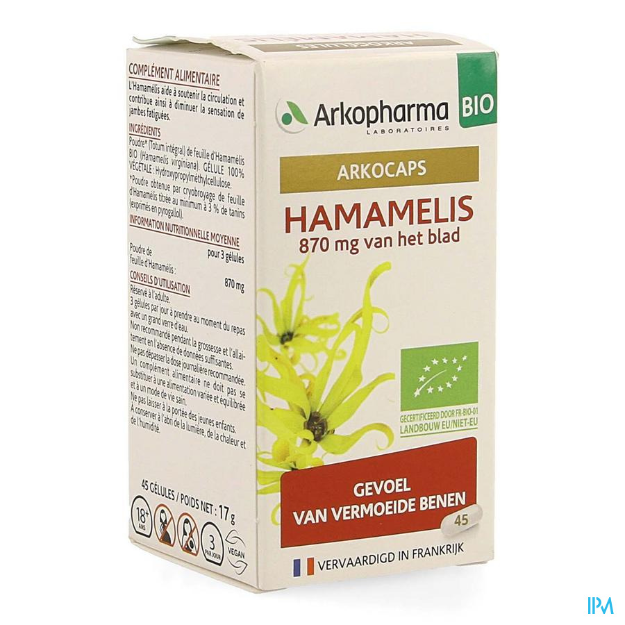 Hamamelis (45 capsulen)
