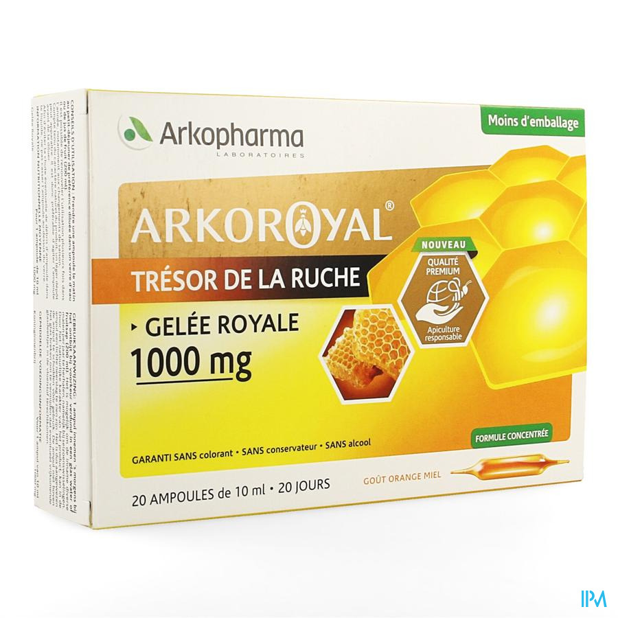 Akro Royal Koninginnebrij 1000 mg 20x10 ml