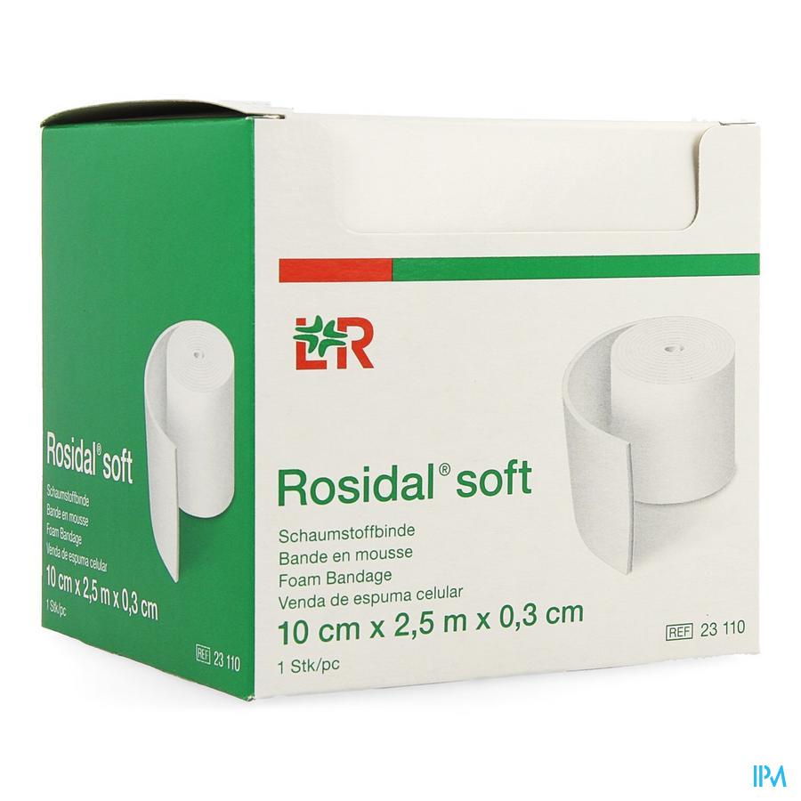 Rosidal Soft Schuimverband 10x0,3cmx2,5m
