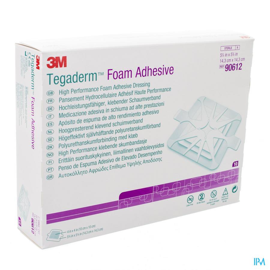 Tegaderm Foam Adhesive 14,3x14,3 cm 5 stuks
