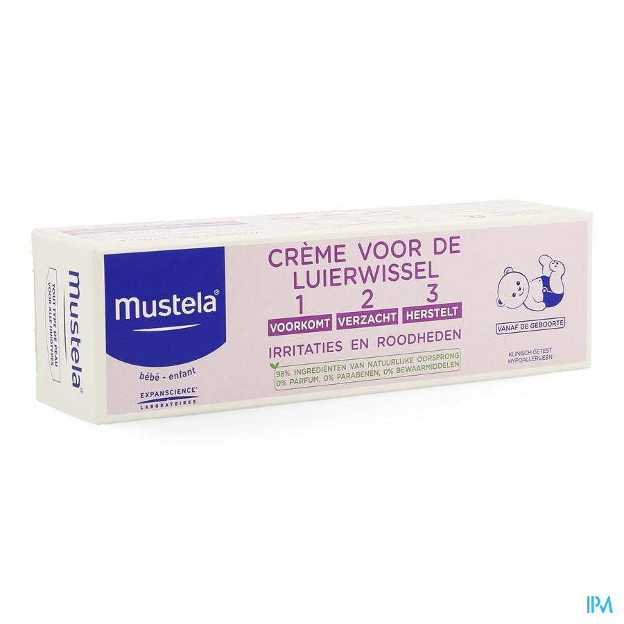 Mustela  Luierwissel creme (50 ml)