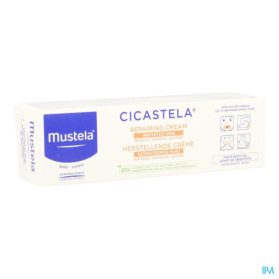 Mustela Cicastela  herstellende creme (40ml)