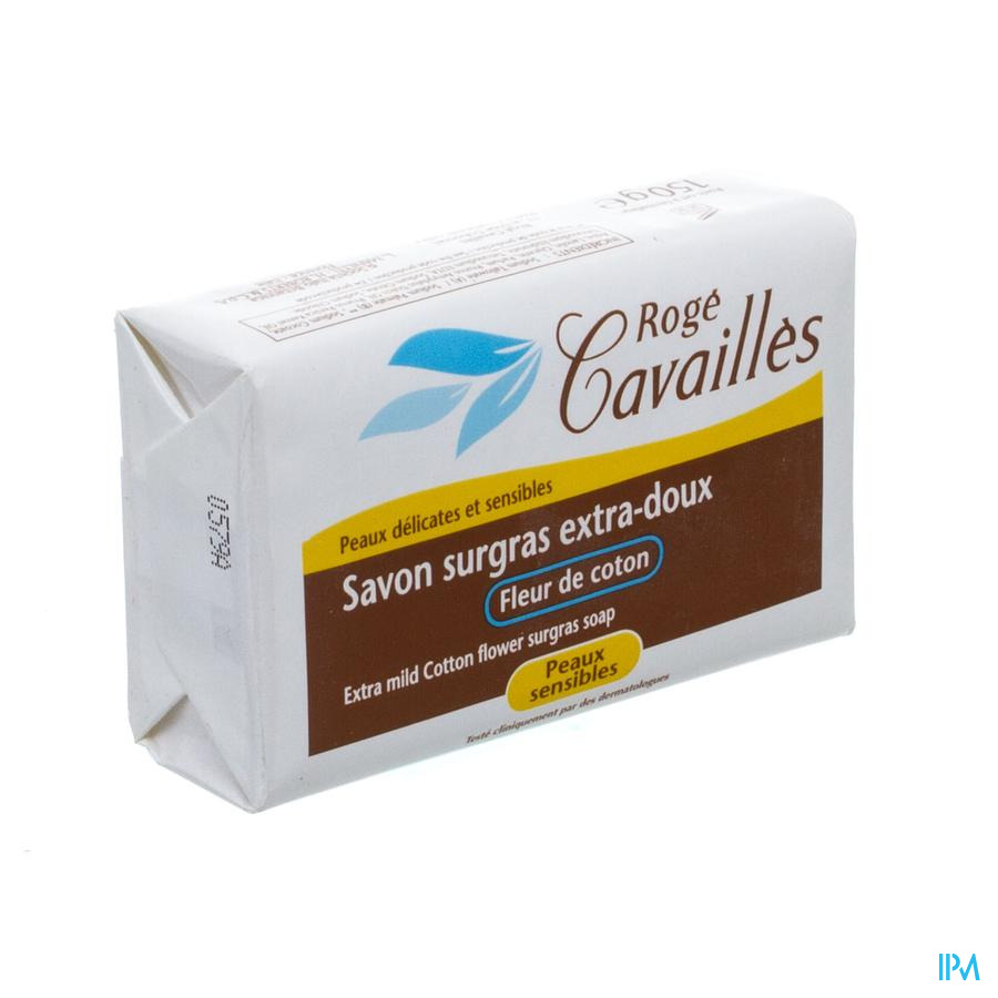 Rogé Cavaillès extrazachte overvette zeep katoenbloesem 150 g