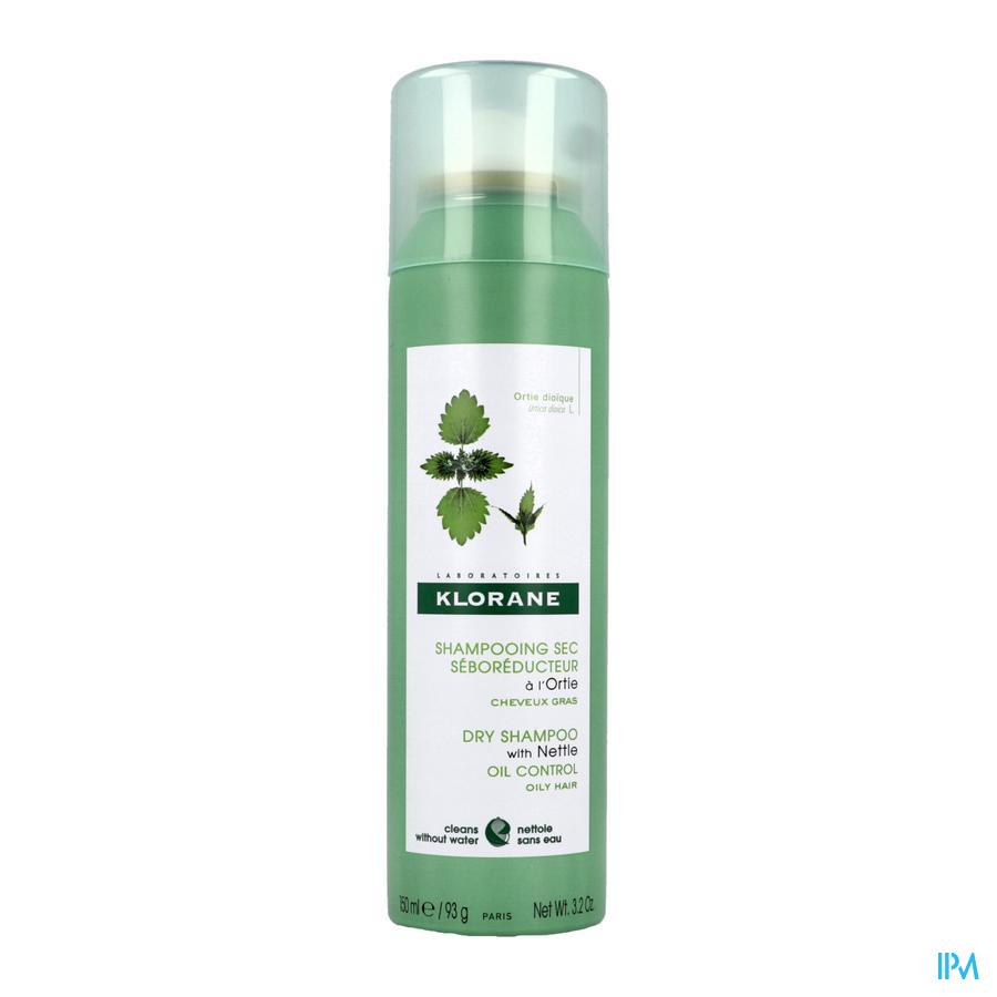 Klorane Droogshampoo met brandnetel (150 ml)