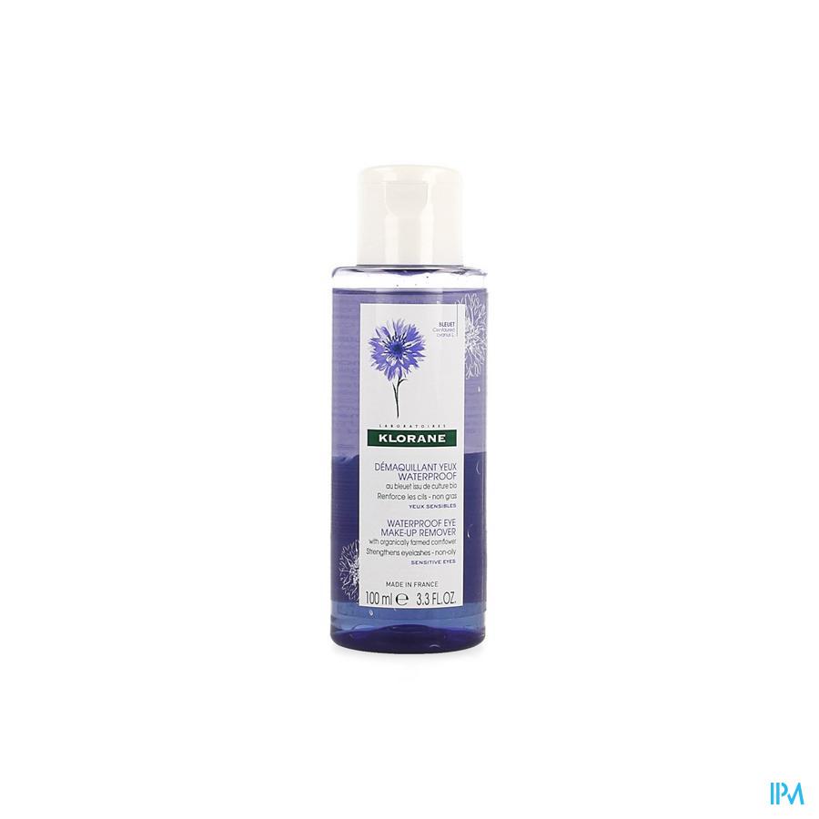 Klorane Korenbloem Oogreiniging waterproof (100ml)