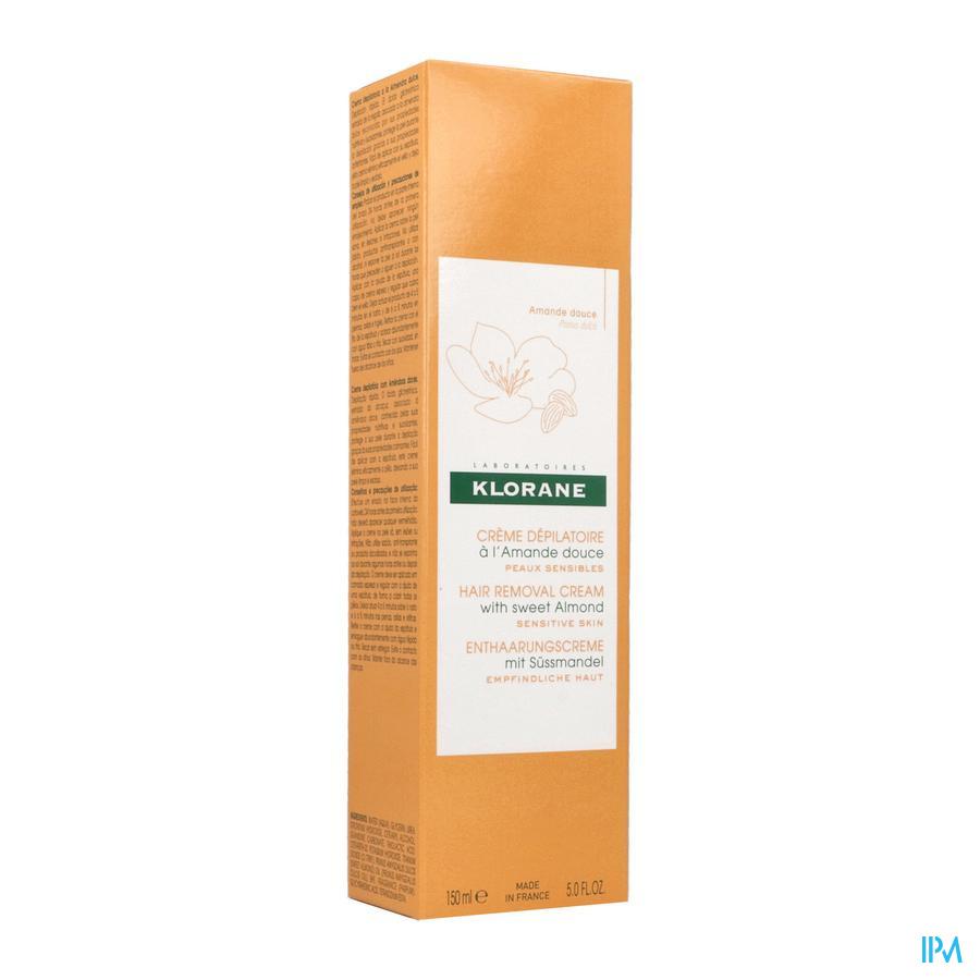 Klorane Ontharing crème (benen)