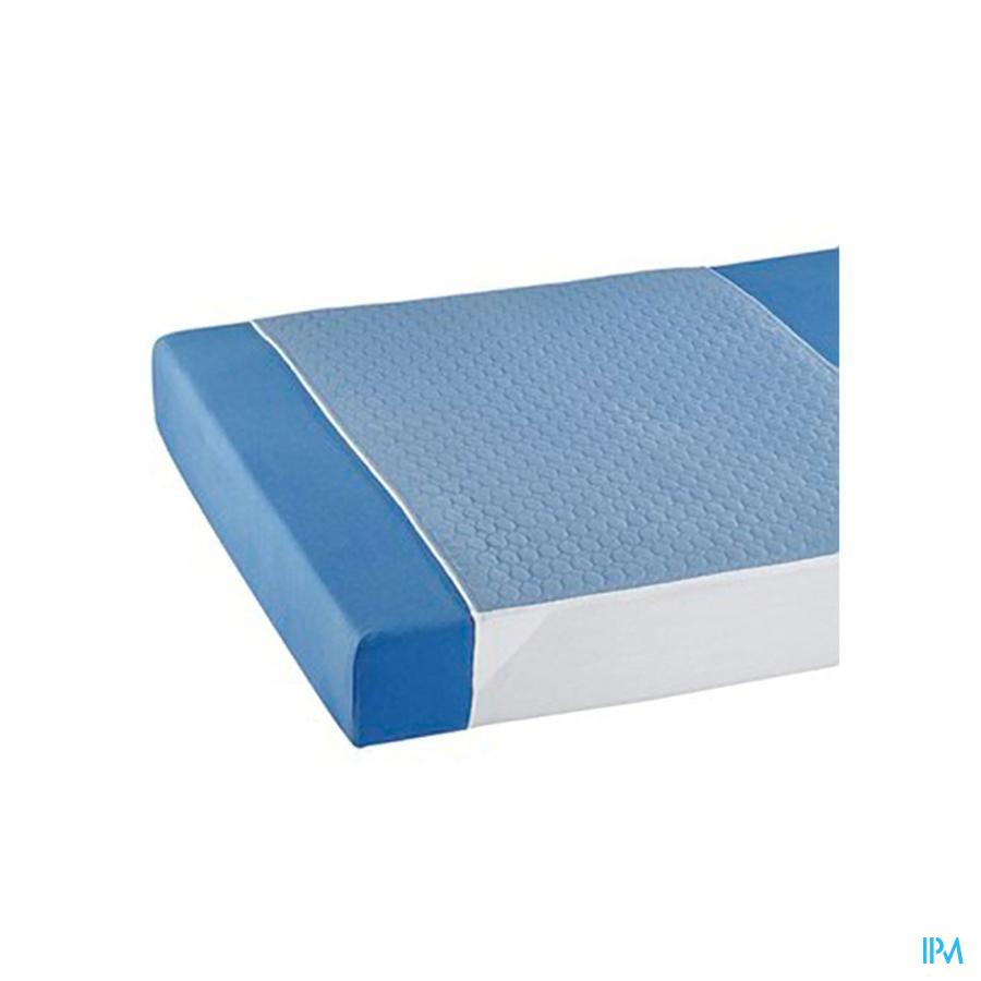 steeklaken PVC + onderlegger 70x160 cm (absorptielaag: 75 x 85 cm) Suprima 3106