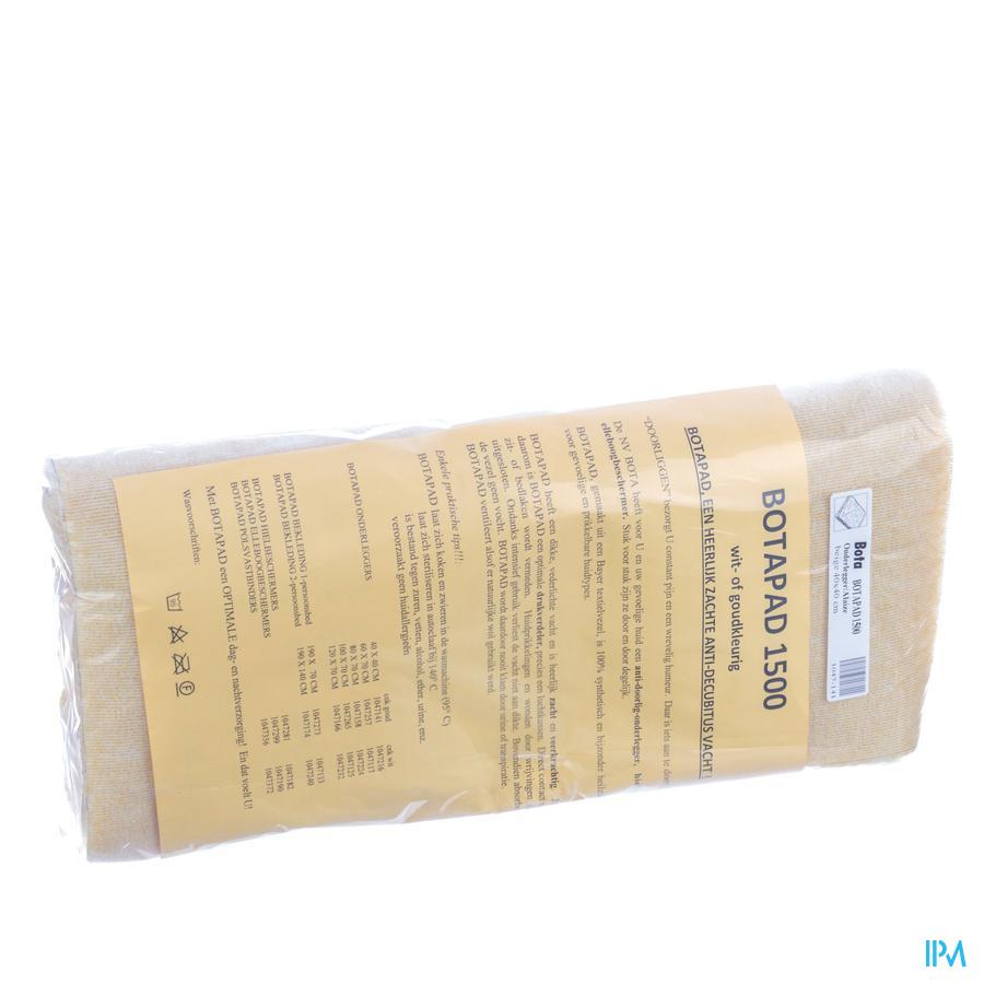 onderlegger schapenvacht synthetisch  beige (40x40cm)