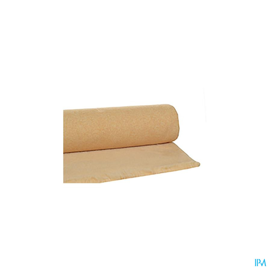onderlegger schapenvacht synthetisch beige (100x70cm)
