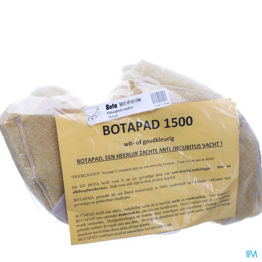 elleboogbeschermer schapenvacht synthetisch beige